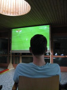 Public Viewing im Foyer, WM 2010: Alles gut