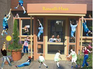 Verrücktes Roncalli-Haus