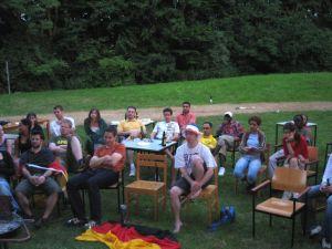 Sommerfest 2006 - Public Viewing beim Sommerfest