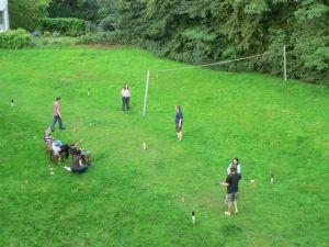 Sommerfest 2007 - Volleyball auf der Wiese