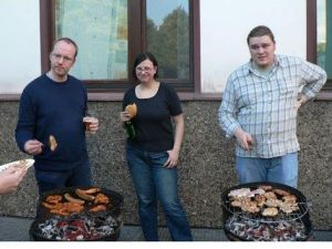 Sommerfest 2007 - Das Grillteam