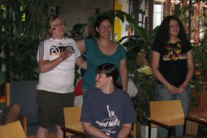 Public Viewing im Foyer, WM 2010: DIe Hymne